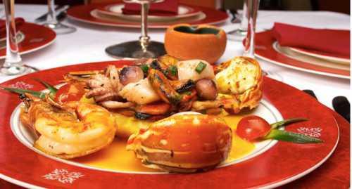 романтический ужин на праздник влюблённых