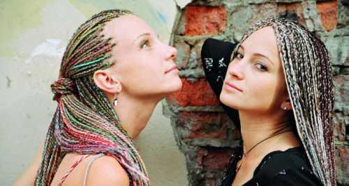 косички африканские