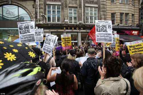 эксклюзив протест против фестиваля надежды